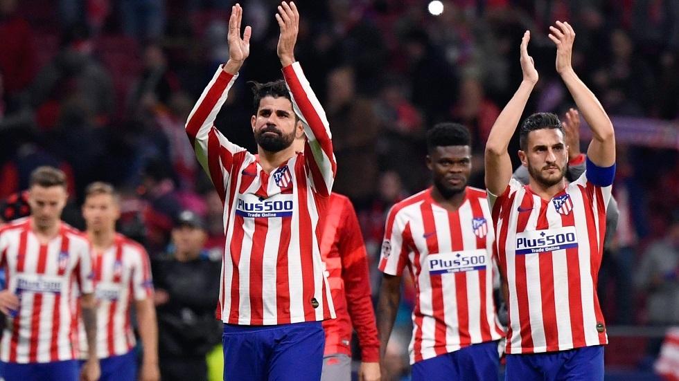 أتلتيكو مدريد يخفض رواتب لاعبيه لحماية بقية العاملين