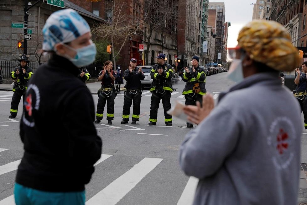 كورونا.. تسجيل 562 حالة وفاة جديدة في ولاية نيويورك