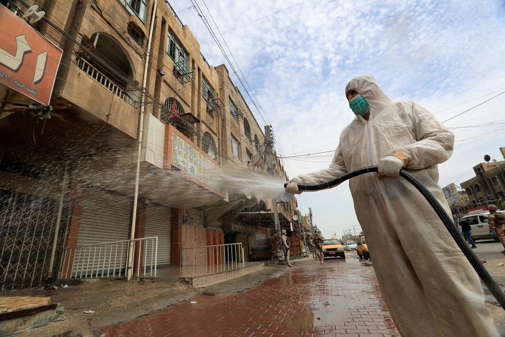 العراق يسجل 48 إصابة جديدة بفيروس كورونا من دون وفيات