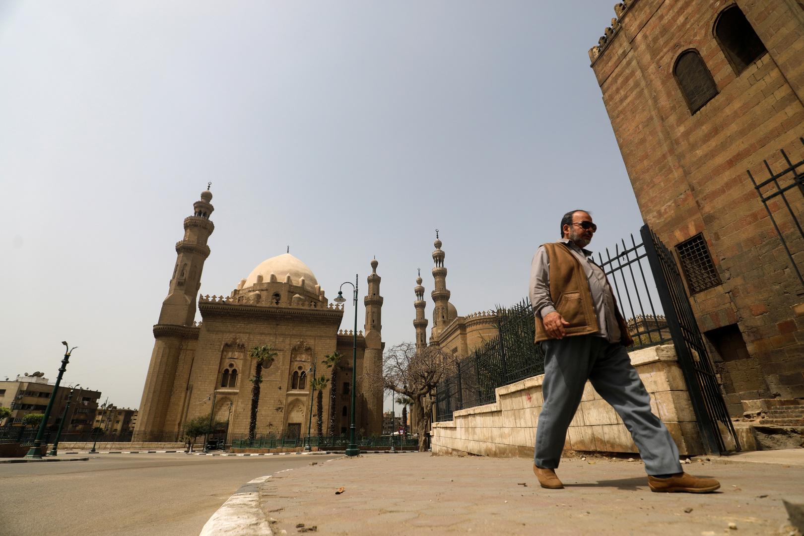 مسجدا السلطان حسن والرفاعي في القاهرة