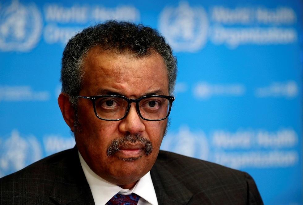 رئيس منظمة الصحة العالمية، تيدروس أدهانوم