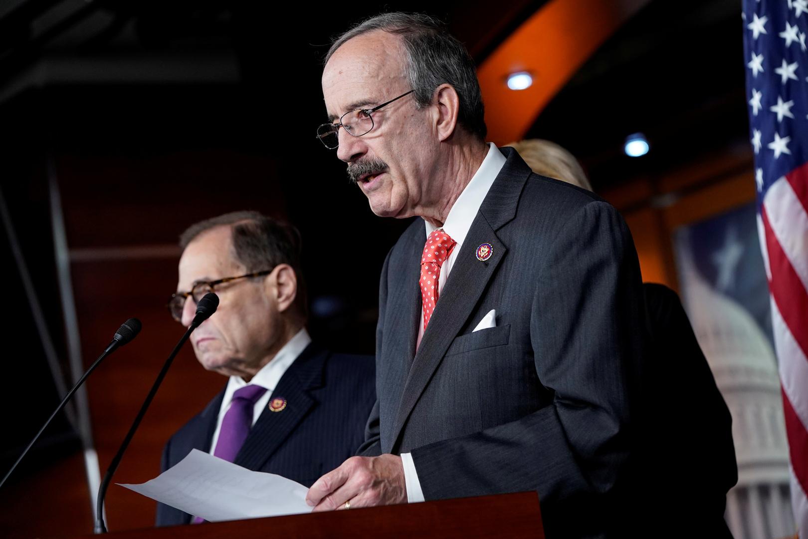 العضو في مجلس النواب الأمريكي، الديمقراطي إيليوت إنغل