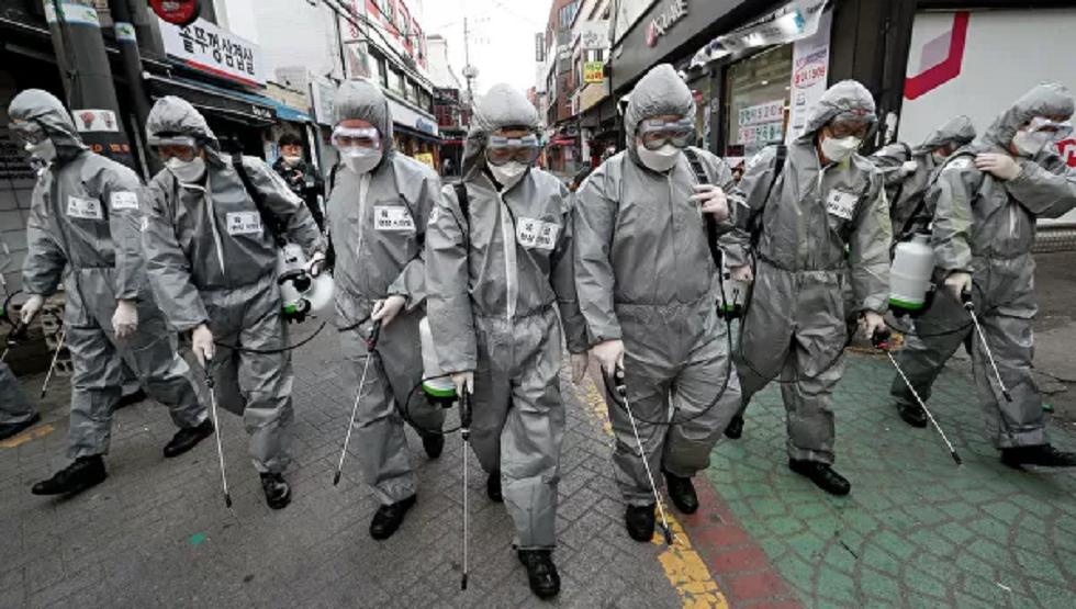 ارتفاع عدد المصابين بكورونا في كوريا الجنوبية إلى أكثر من عشرة آلاف وتمديد الحجر