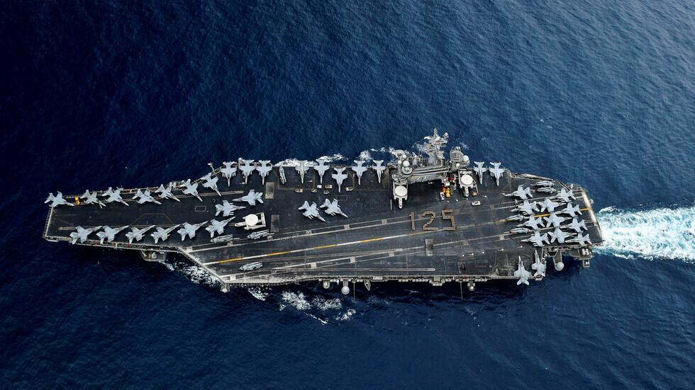 """حاملة الطائرات الأمريكية """"USS Theodore Roosevelt"""""""