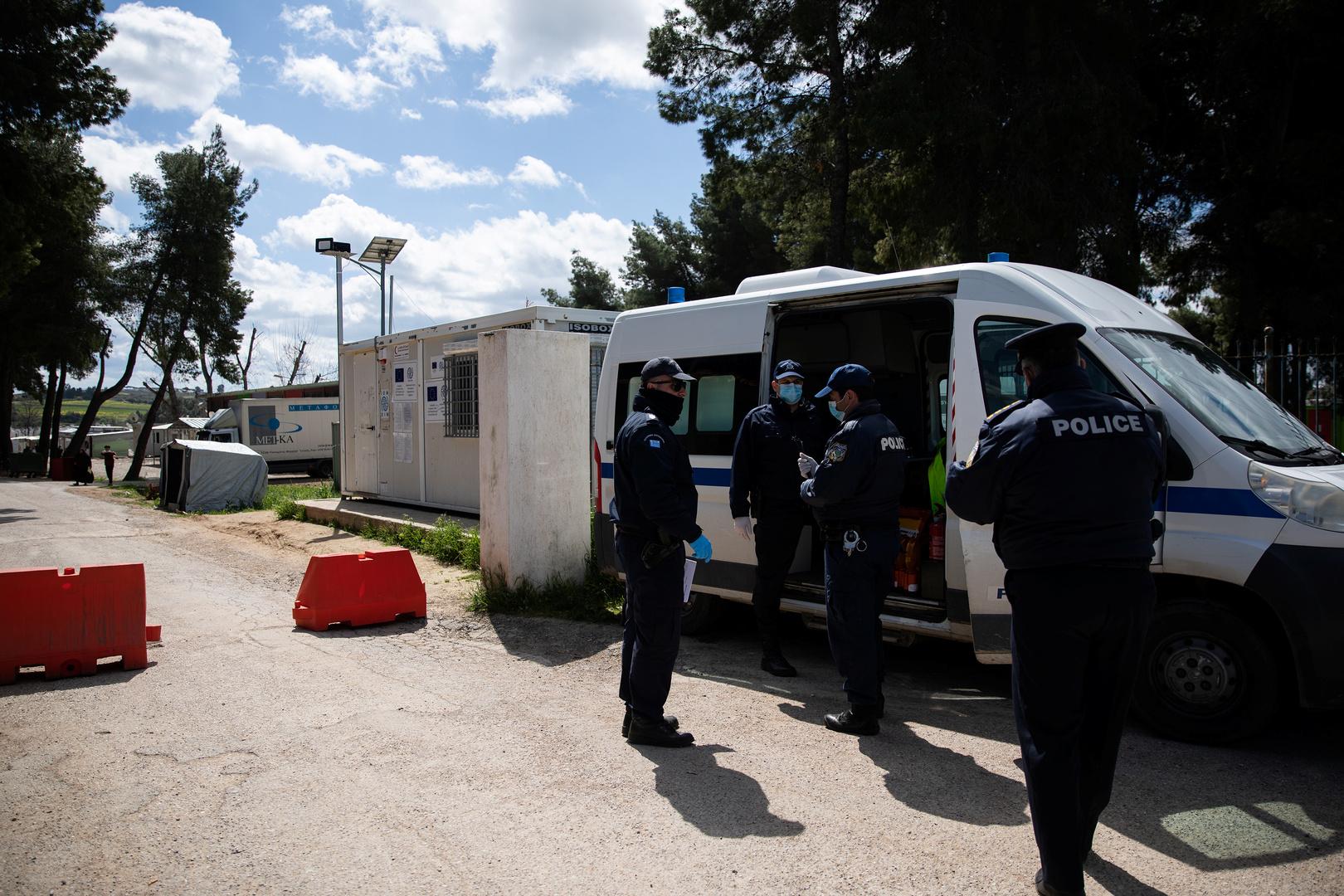 كورونا يغزو مخيمات اللاجئين في اليونان!