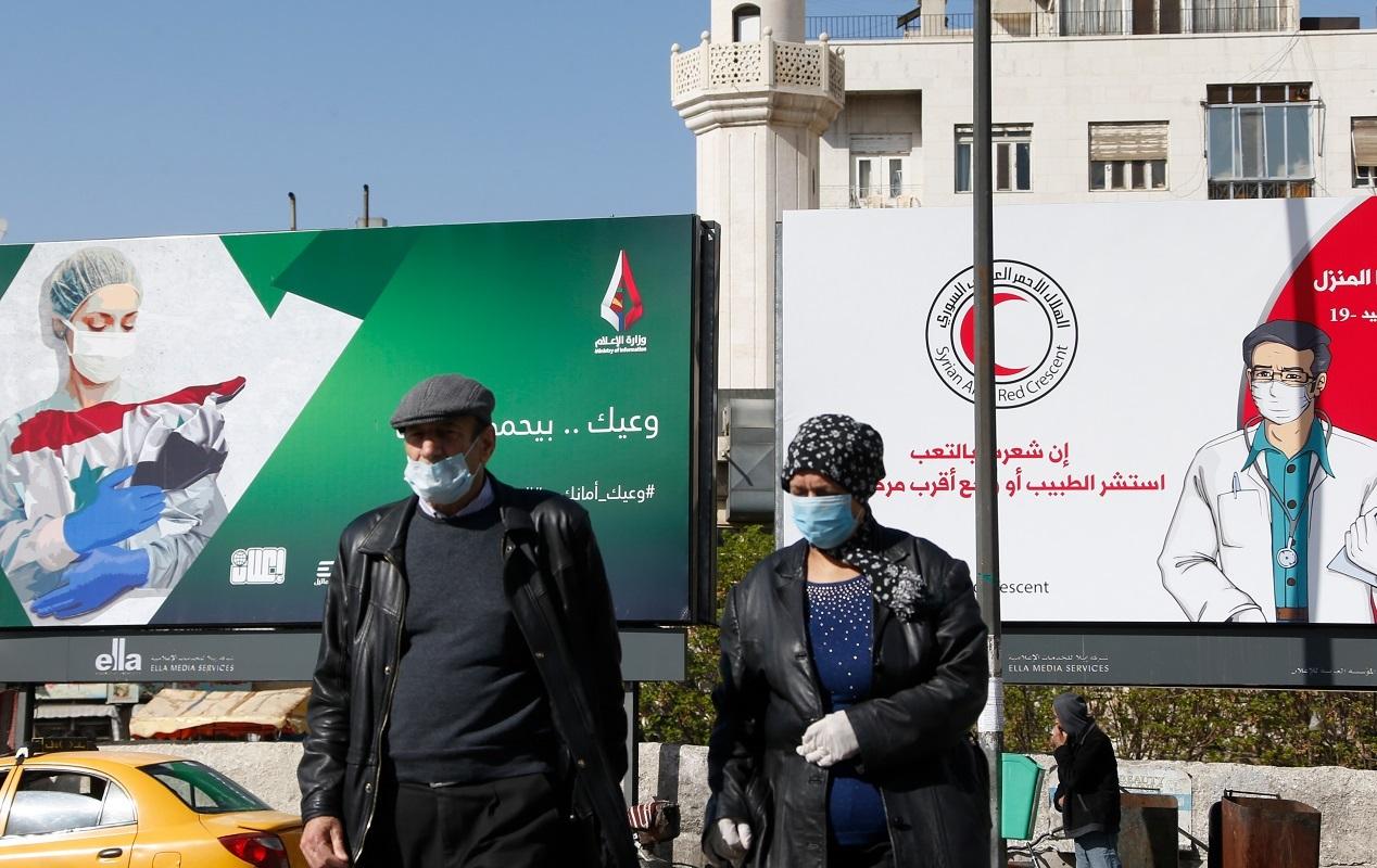 إجراءات وقائية للحد من انتشار فيروس كورونا في سوريا
