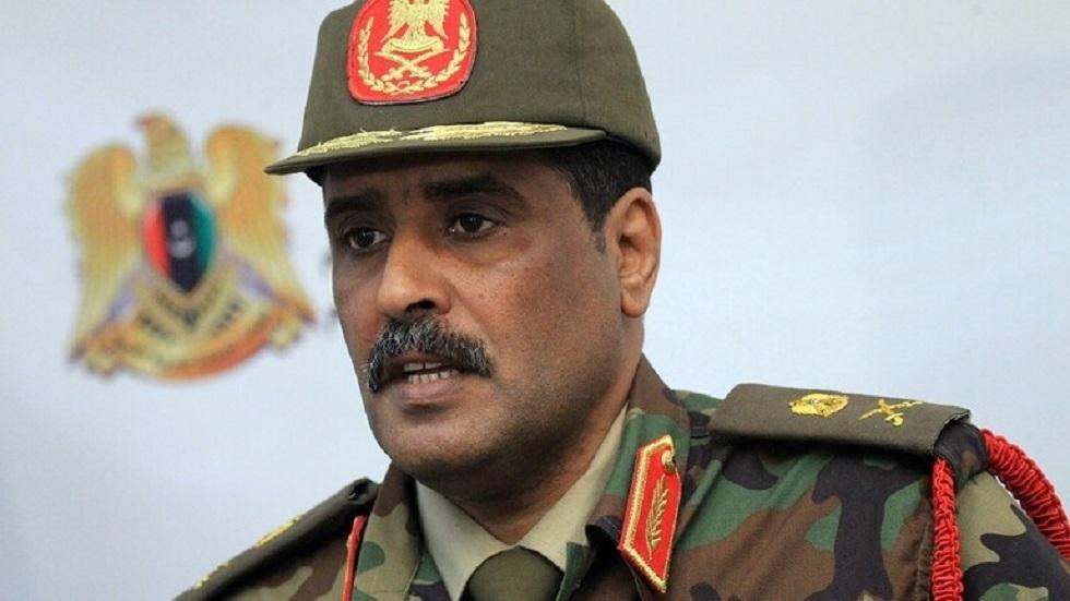 """الناطق الرسمي باسم القيادة العامة لقوات """"الجيش الوطني الليبي"""" اللواء أحمد المسماري"""