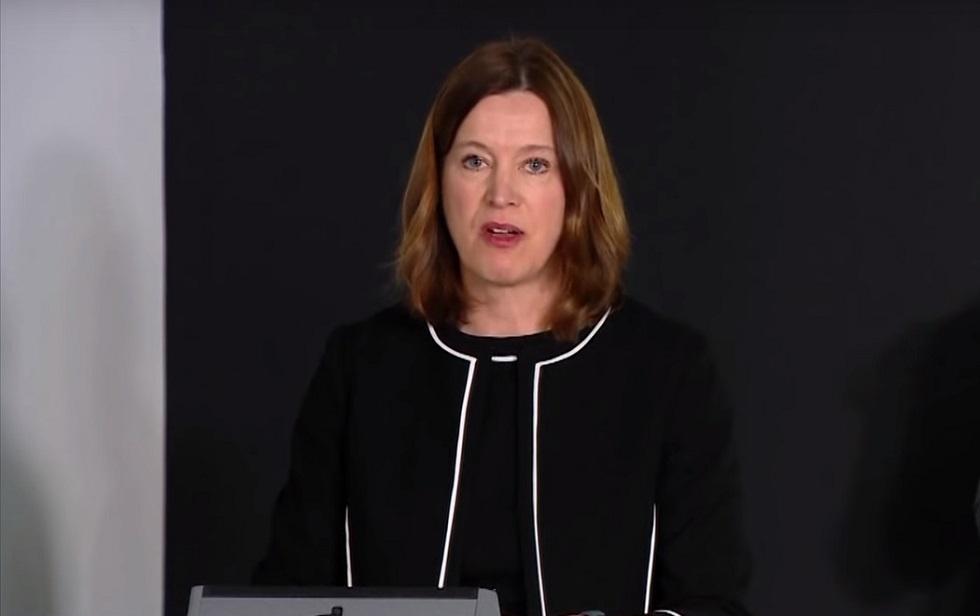 كبيرة مسؤولي الصحة في الحكومة الاسكتلندية كاثرين كالديروود