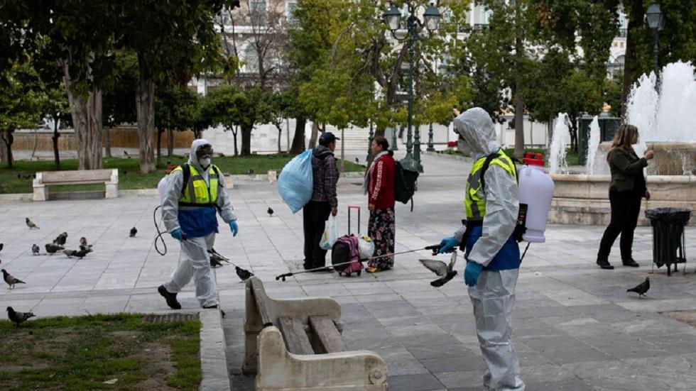اليونان تسجل أقل عدد من الإصابات بفيروس كورونا منذ 12 مارس