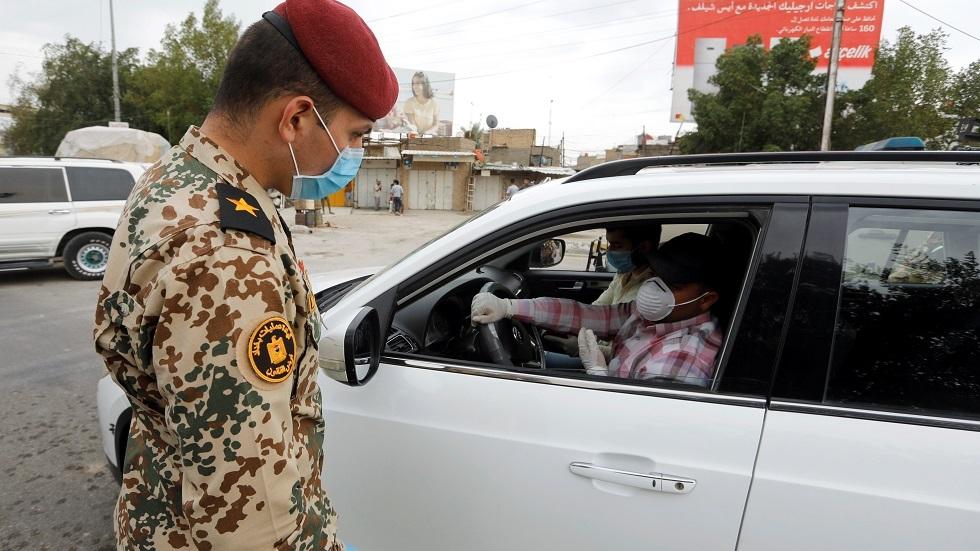 العراق.. اعتقال 13 ألف شخص خالفوا حظر التجوال في بغداد