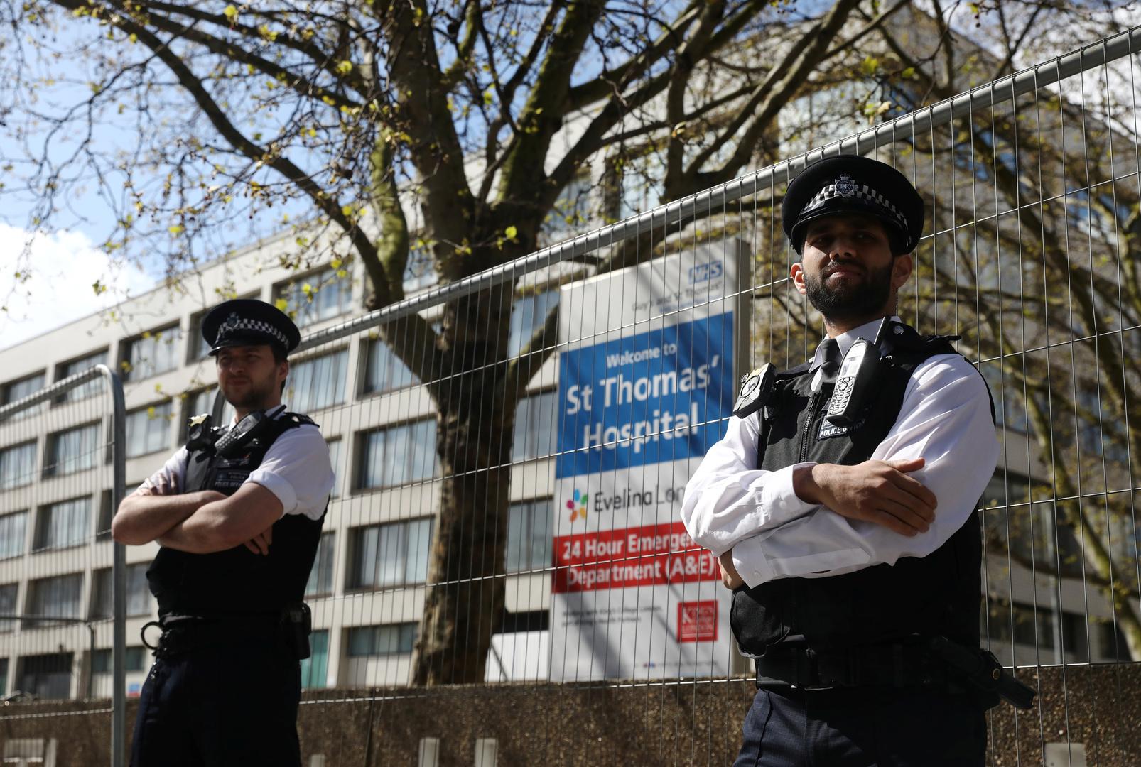 المستشفى الذي يتلقى فيه رئيس الوزراء البريطاني بوريس جونسون العلاج