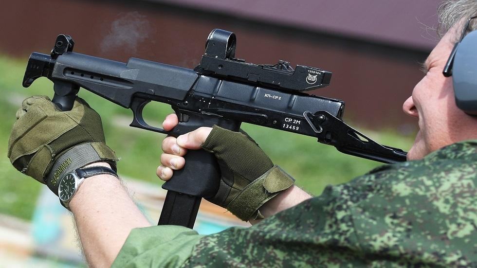 الحرس الوطني الروسي يتسلح بمسدس رشاش حديث