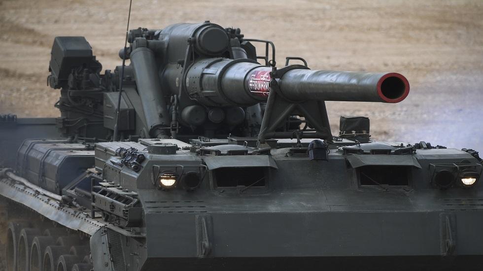 روسيا تعدل مدفع Malka الجبار