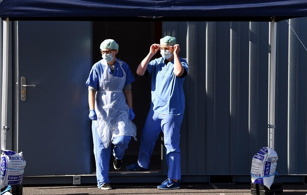 ارتفاع حصيلة وفيات فيروس كورونا في إنجلترا إلى 5655