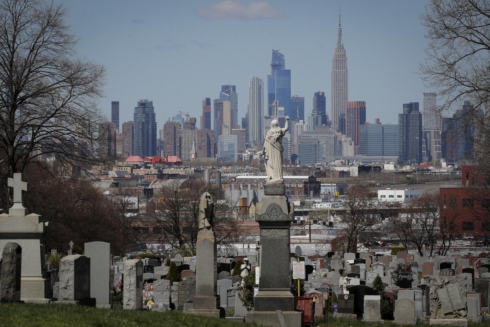 ولاية نيويورك الأمريكية تسجل أكبر حصيلة يومية لوفيات كورونا وسط ارتفاع حاد للمعدل