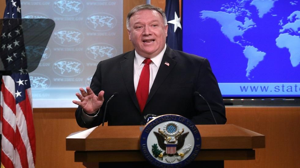 بومبيو يكشف عن حوارات مع بغداد لحسم الوجود العسكري في العراق -
