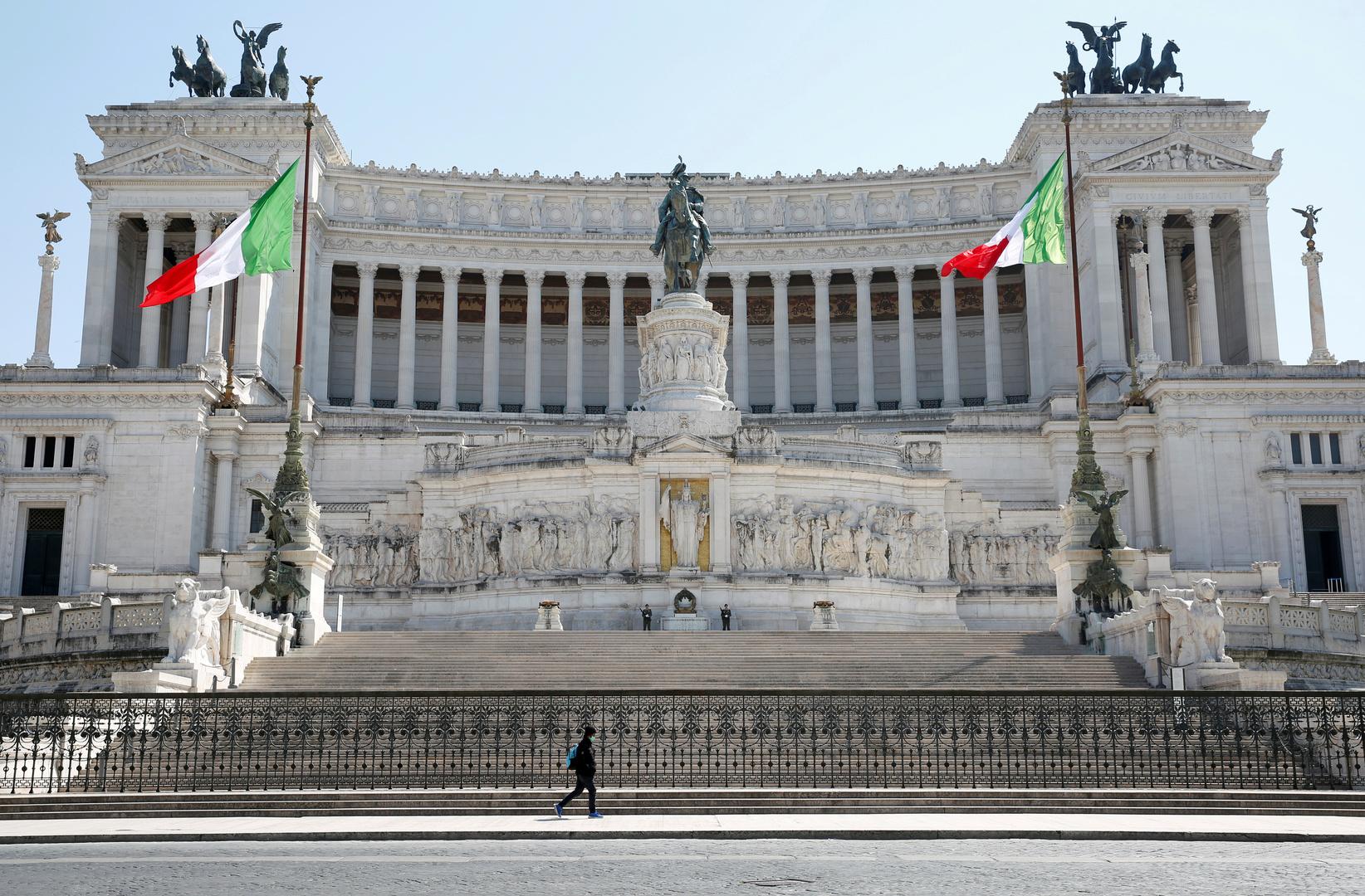 مسؤول صحي ايطالي: المنحنى الوبائي في إيطاليا بدأ بالانحدار