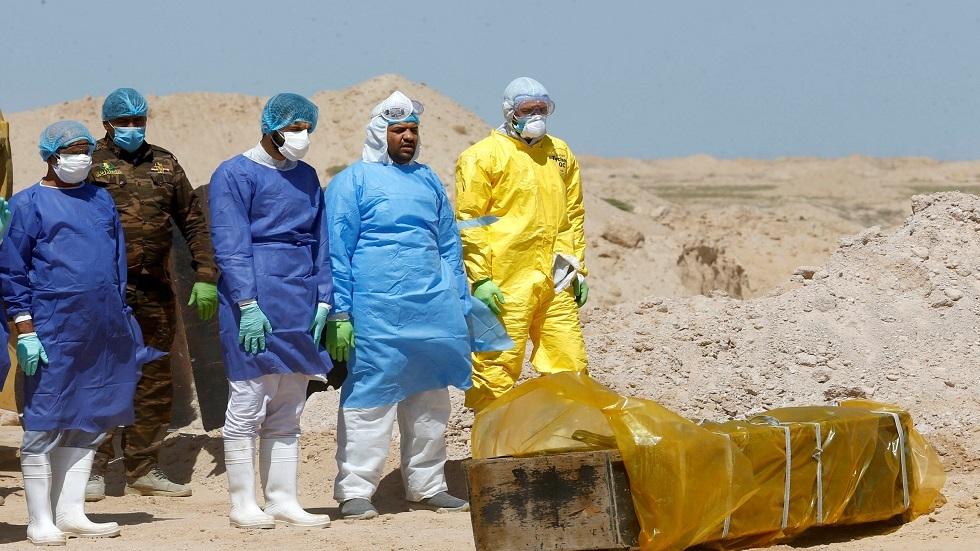 دفن ضحايا كورونا في العراق - أرشيف