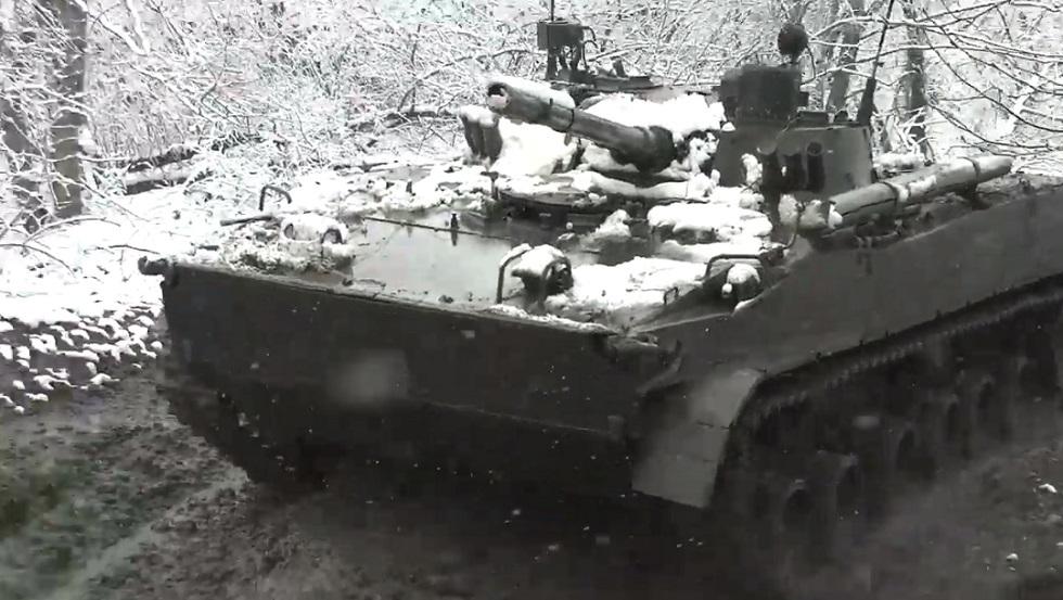 بالفيديو.. مناورات الجيش الروسي في أوسيتيا الشمالية