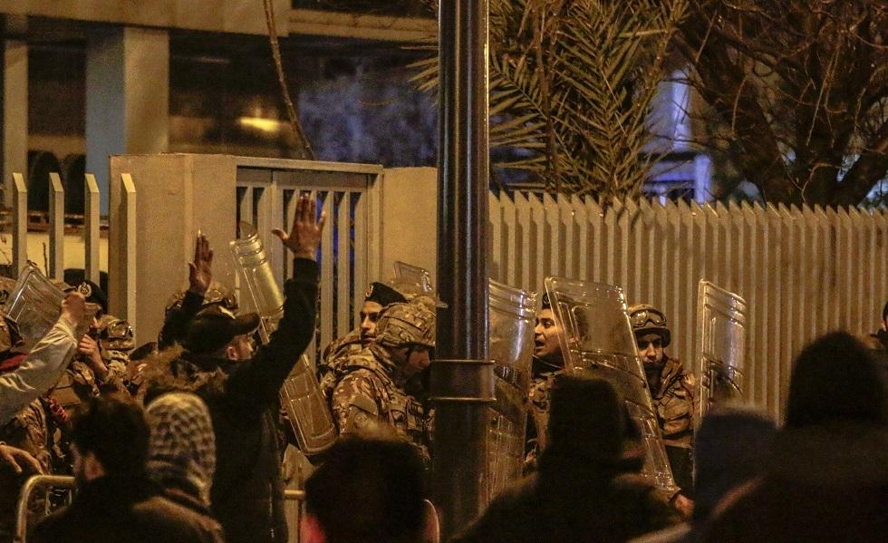 احتجاجات في طرابلس بلبنان (صورة من الأرشيف)