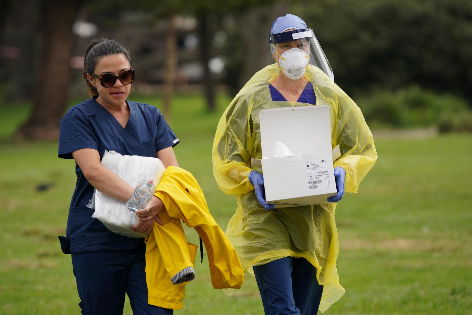 أستراليا متفائلة بنتيجة معركتها مع الفيروس التاجي