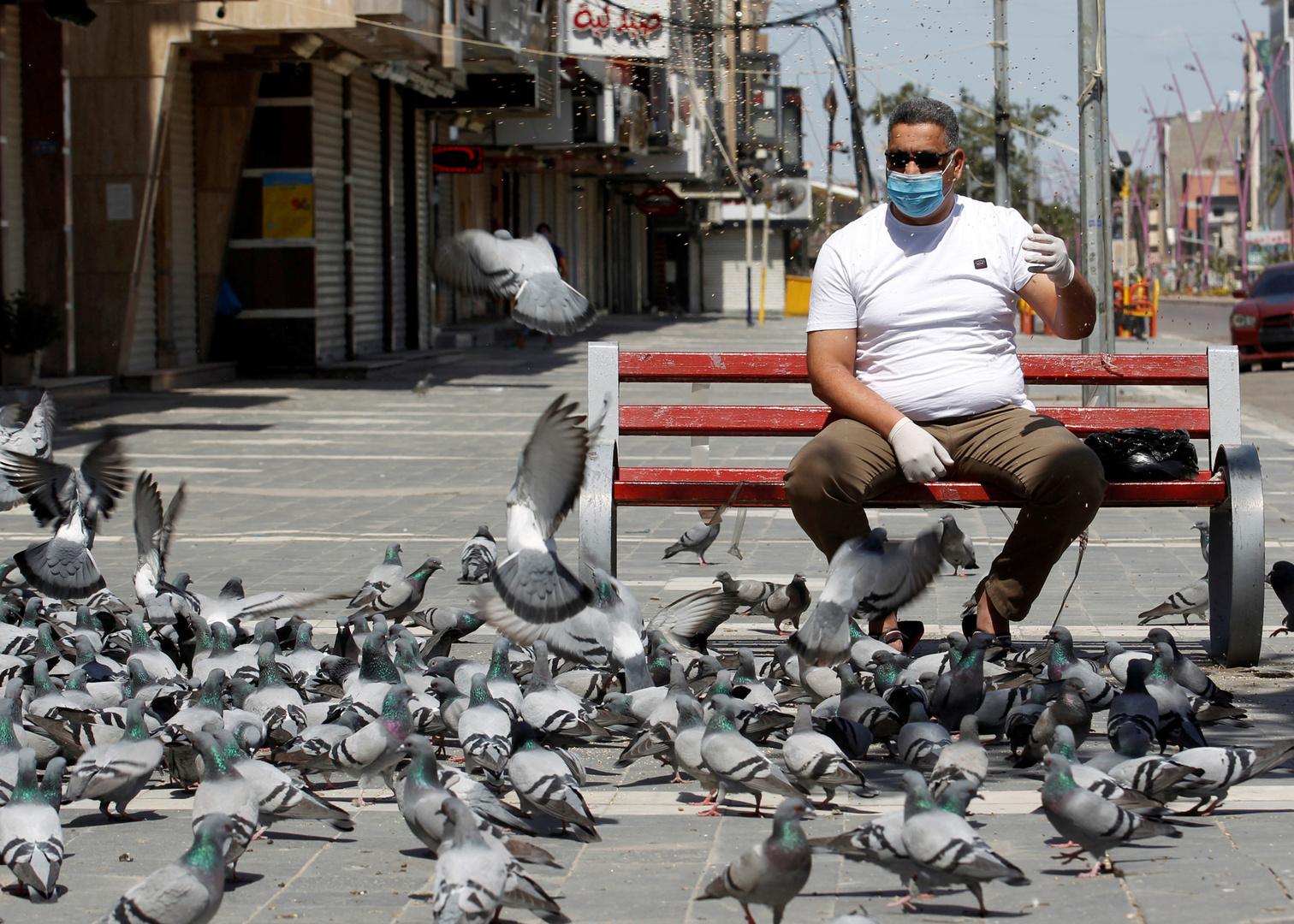 تفشي فيروس كورونا في العراق