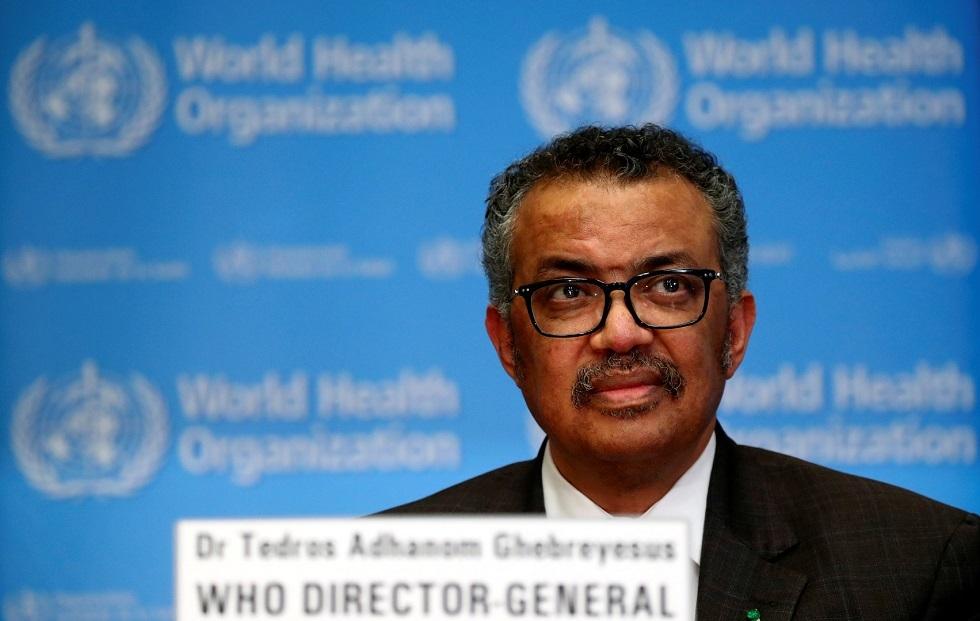 مدير منظمة الصحة العالمية، تيدروس أدهانوم غيبرييسوس