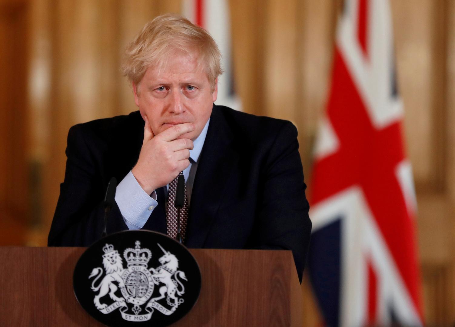 رئيس الوزراء البريطاني، بوريس جونسون
