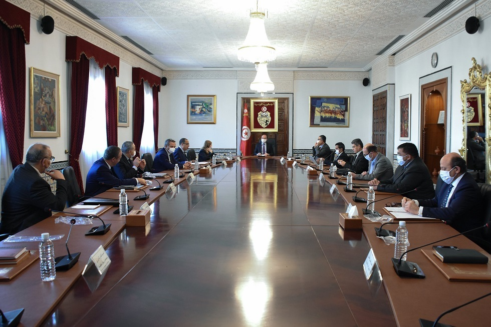 الحكومة التونسية تقر مجموعة من الإجراءات والقرارات الردعية لمجابهة جائحة كورونا