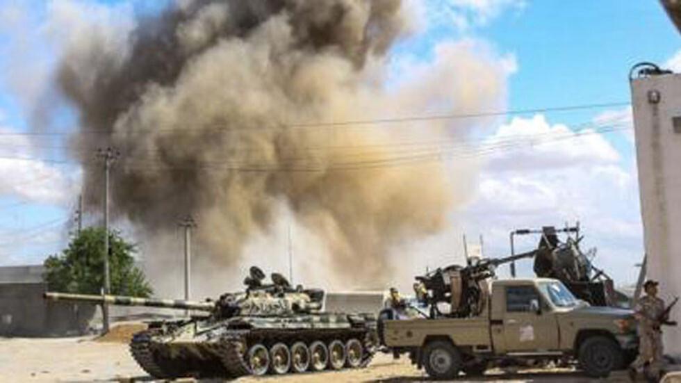 قوات الدفاع الجوي الليبي تعلن إسقاط طائرتين تركيتين