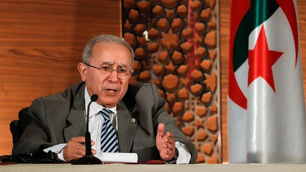 وزير الخارجية الجزائري الأسبق رمطان لعمامرة