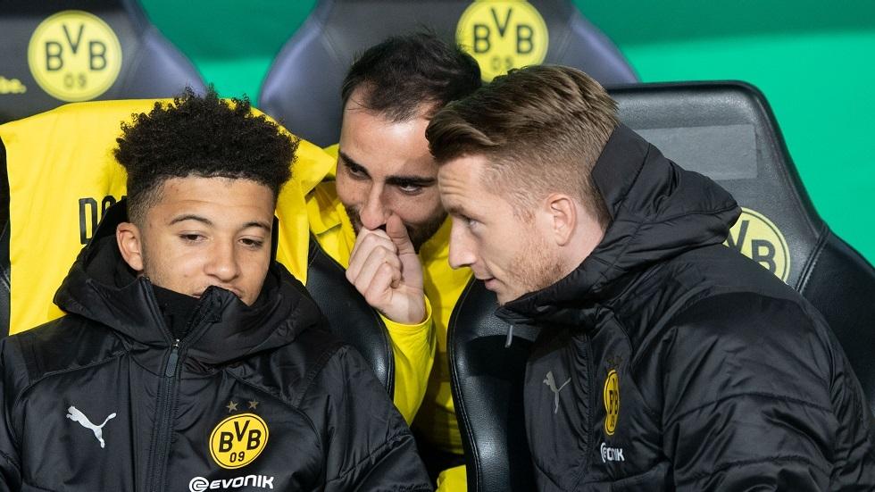 قائد دورتموند ينصح سانشو بالبقاء سنة إضافية مع الفريق الأصفر
