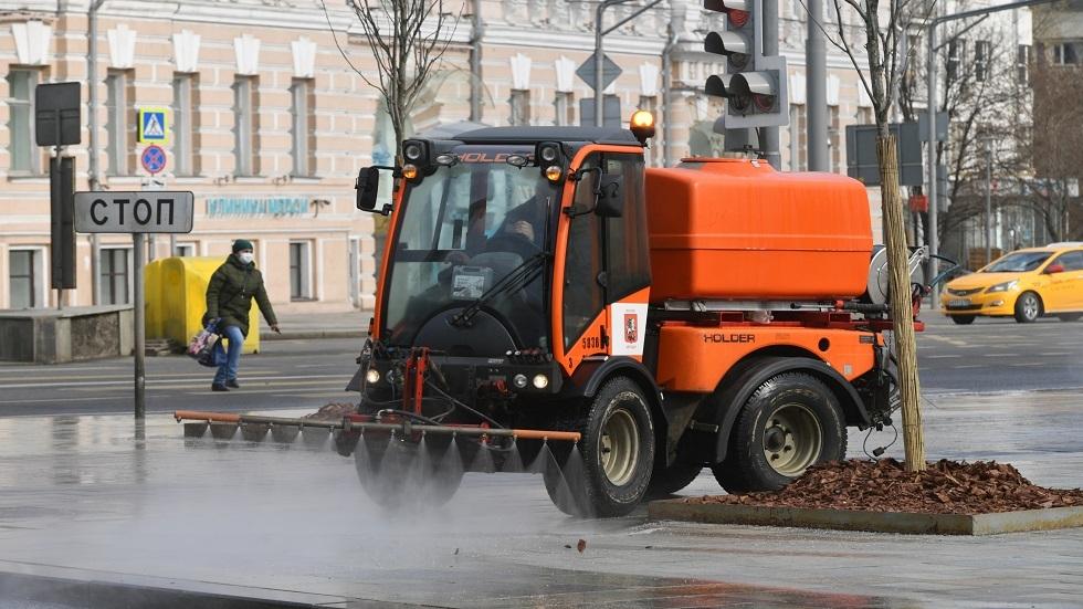 العلماء الروس يبتكرون محلولا كيميائيا لتعقيم وسائل النقل