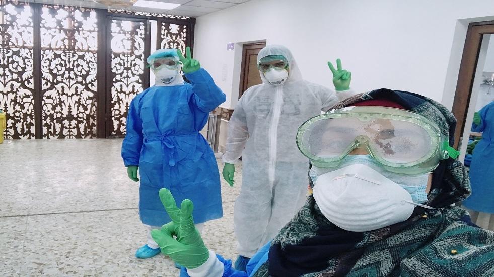 العراق.. نصب تذكاري يخلد جهود الكوادر الطبية في مكافحة كورونا