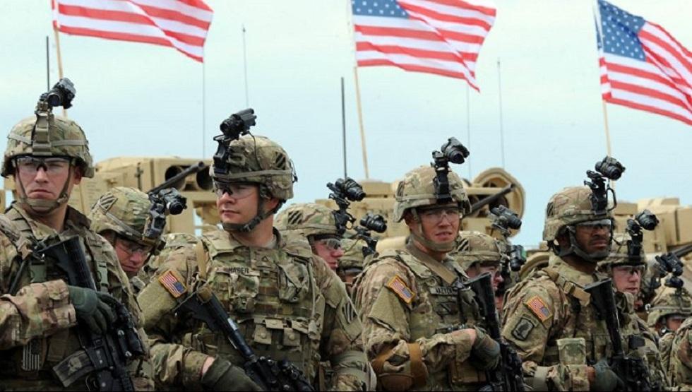 القوات الأمريكية في السعودية