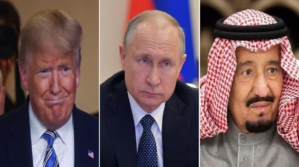 زعماء روسيا والولايات المتحدة والسعودية يؤكدون أهمية التعاون لدعم سوق النفط