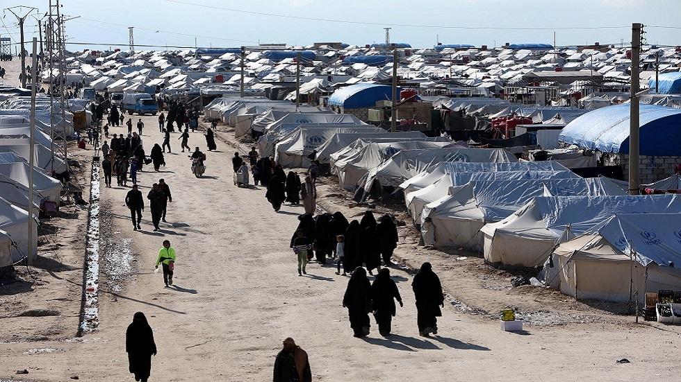 مخيم الهول في الحسكة شمالي سوريا (صورة أرشيفية)
