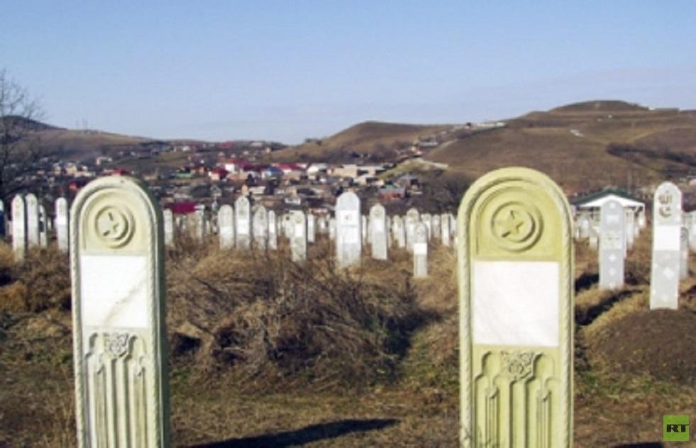 مقبرة إسلامية في إنغوشيا- أرشيف
