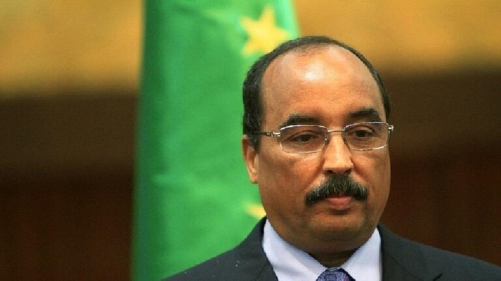 الرئيس الموريتاني السابق محمد ولد عبد العزيز