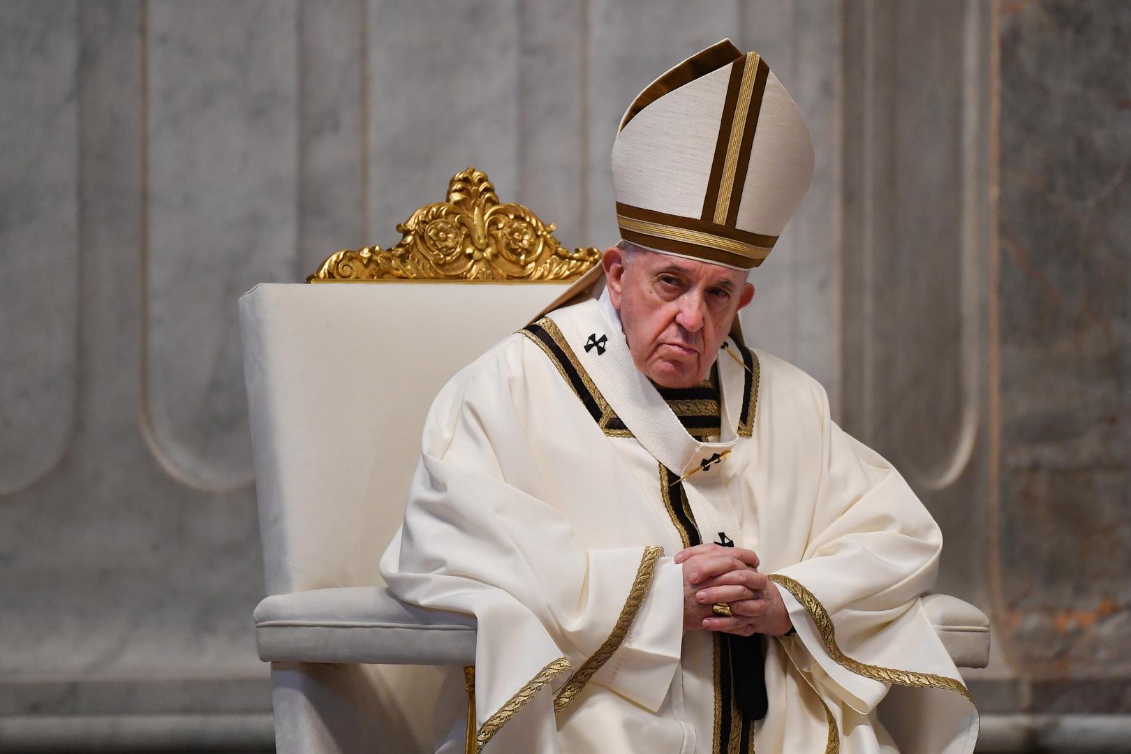 البابا فرنسيس في