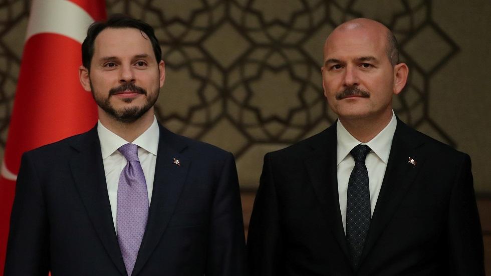 وسائل إعلام: قصة استقالة وزير الداخلية التركي تكشف صراعات في محيط أردوغان