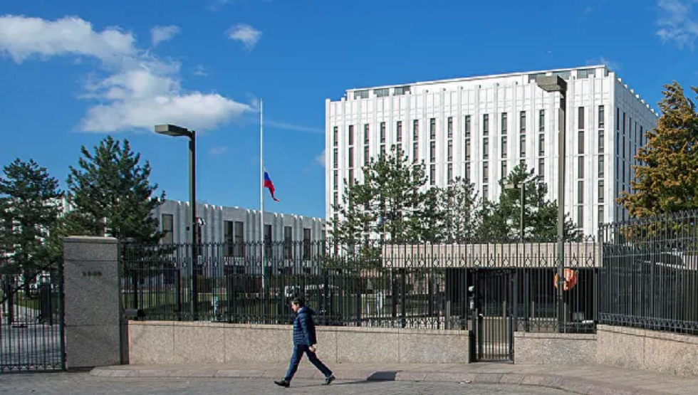 السفارة الروسية في واشنطن