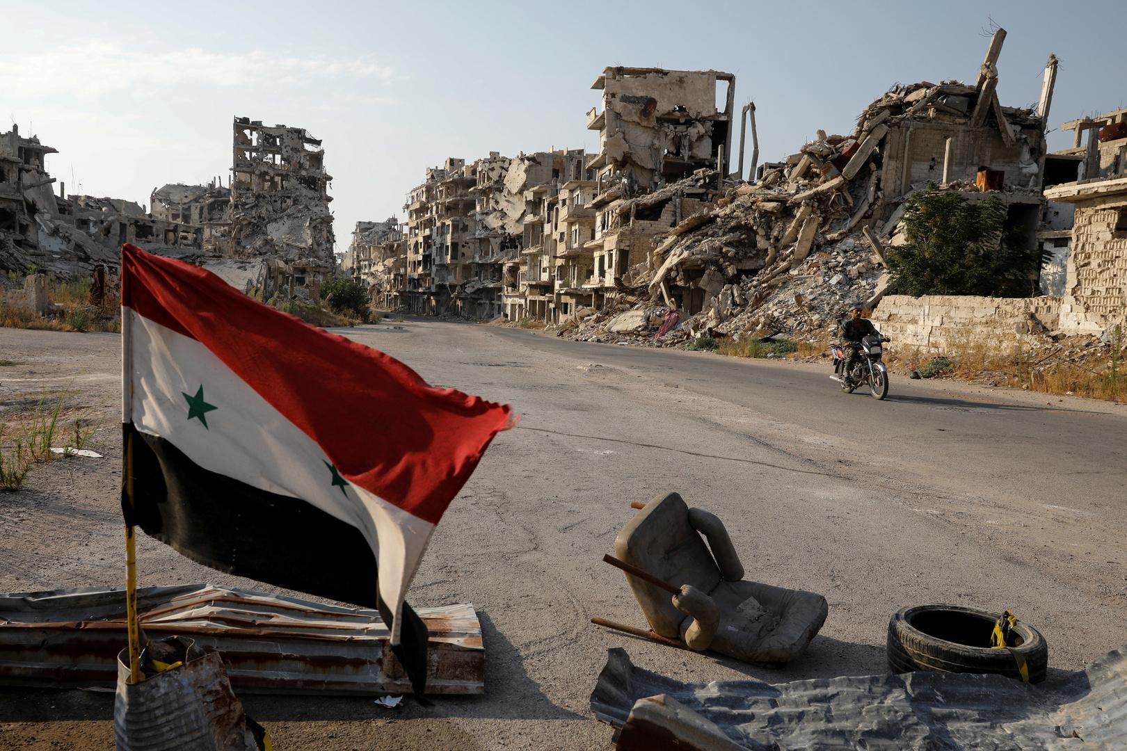 صورة أرشيفية من حمص