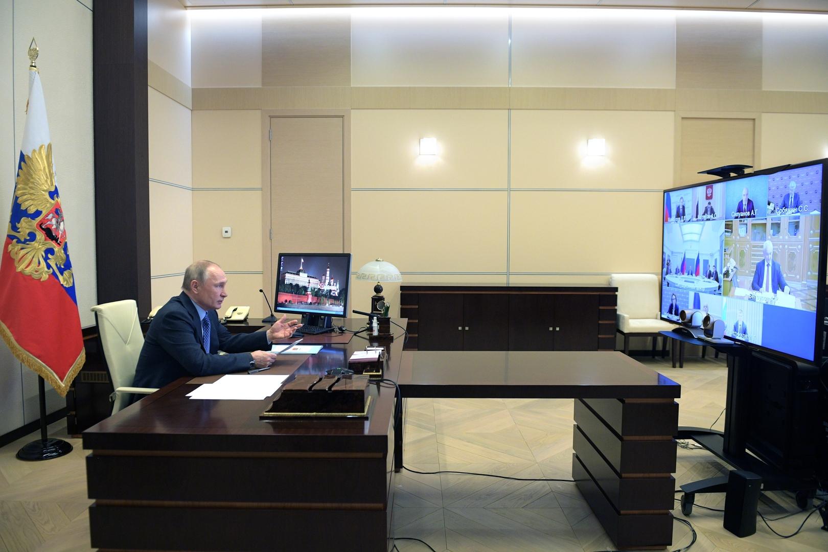 الرئيس الرورسي فلاديمير بوتين