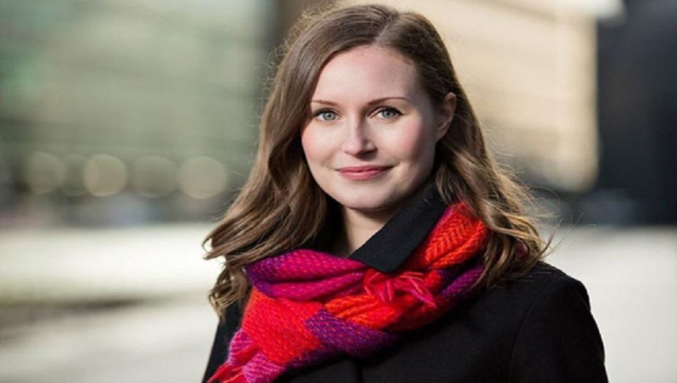 سانا مارين رئيسة وزراء فنلندا