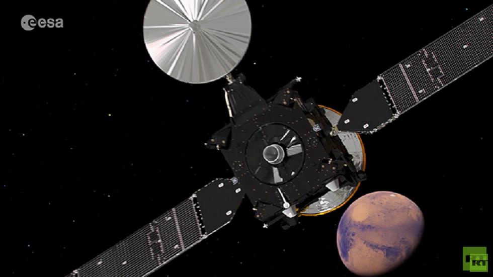 مسبار روسي أوروبي يستأنف عمله في مدار المريخ