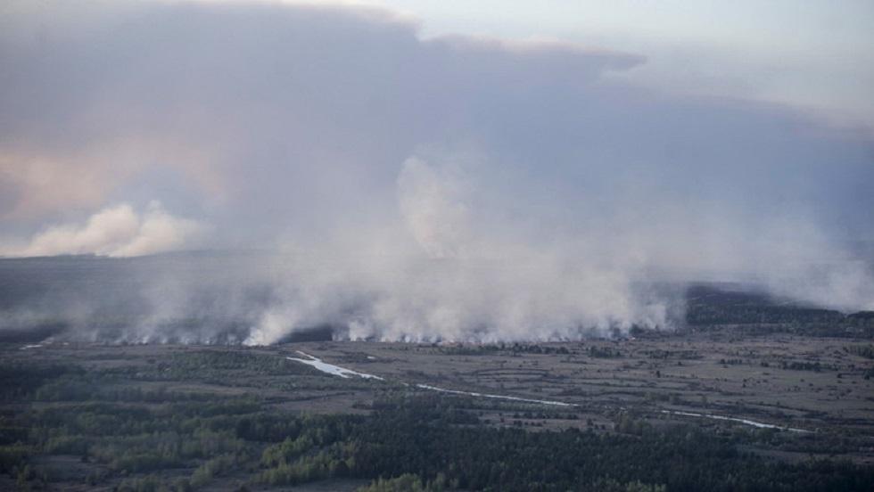 حرائق قرب تشيرنوبل تجعل هواء كييف الأكثر تلوثا في العالم