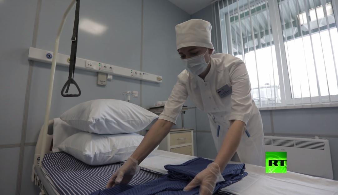 بالفيديو.. افتتاح أول مركز من مراكز طبية تشيدها وزارة الدفاع لمصابي كورونا