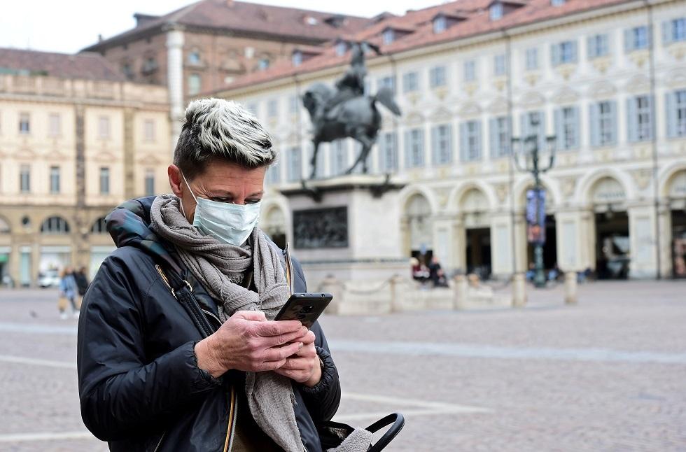 إيطاليا تسجل 482 وفاة جديدة بفيروس كورونا مع تراجع عدد الإصابات