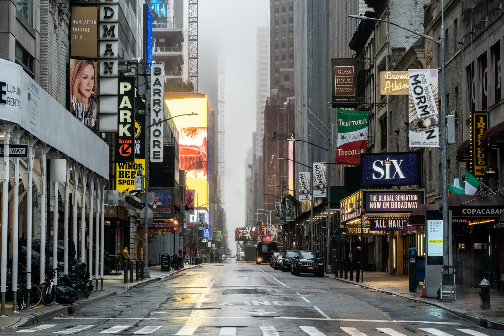 شارع برودواي - نيويورك